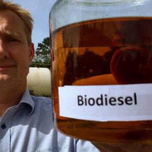 Grøn energi: Vil køre på biodiesel